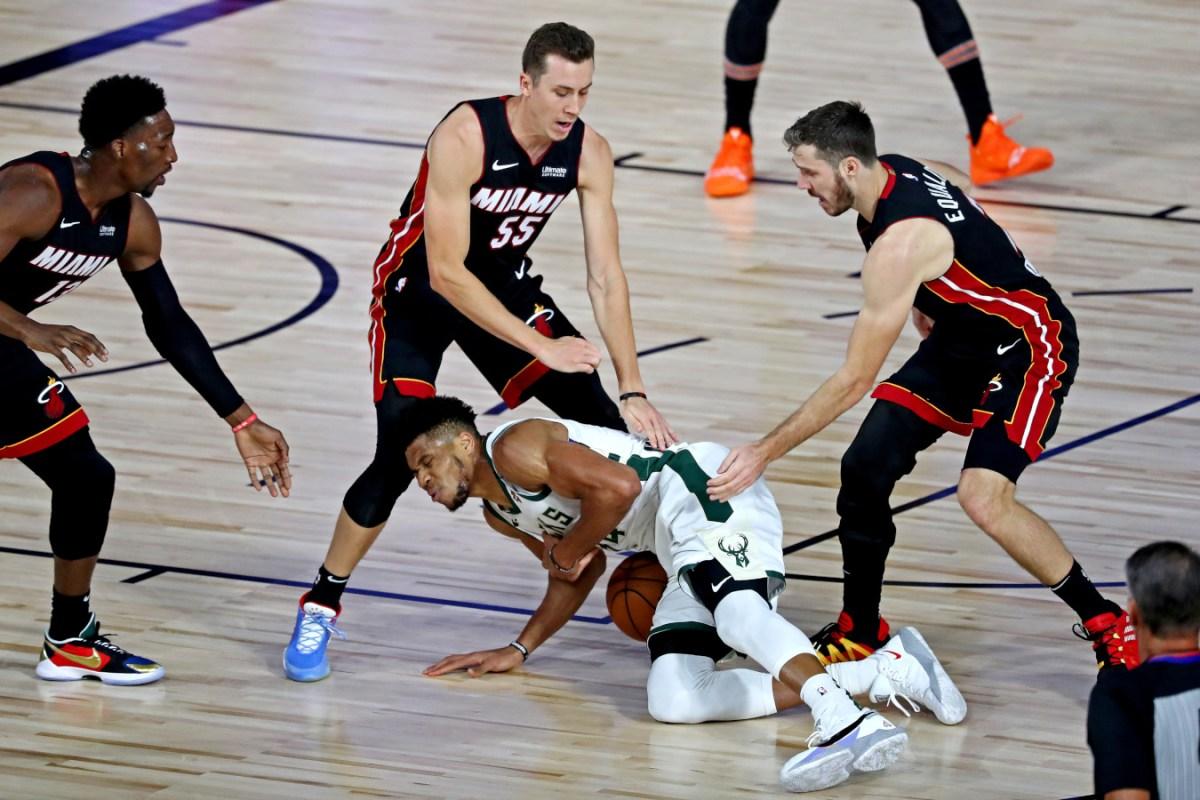 Giannis Antetokounmpo vs. Miami Heat
