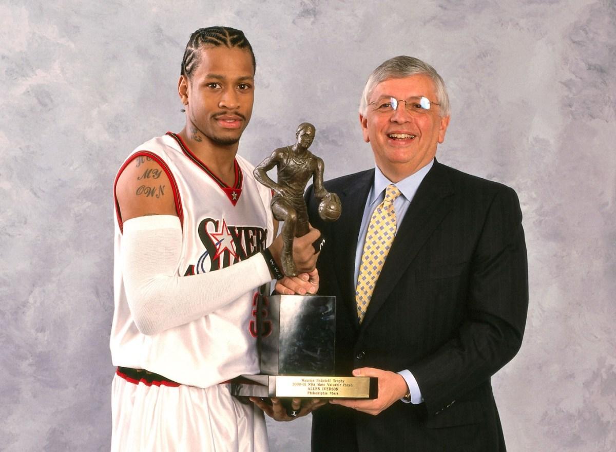 Allen Iverson, MVP