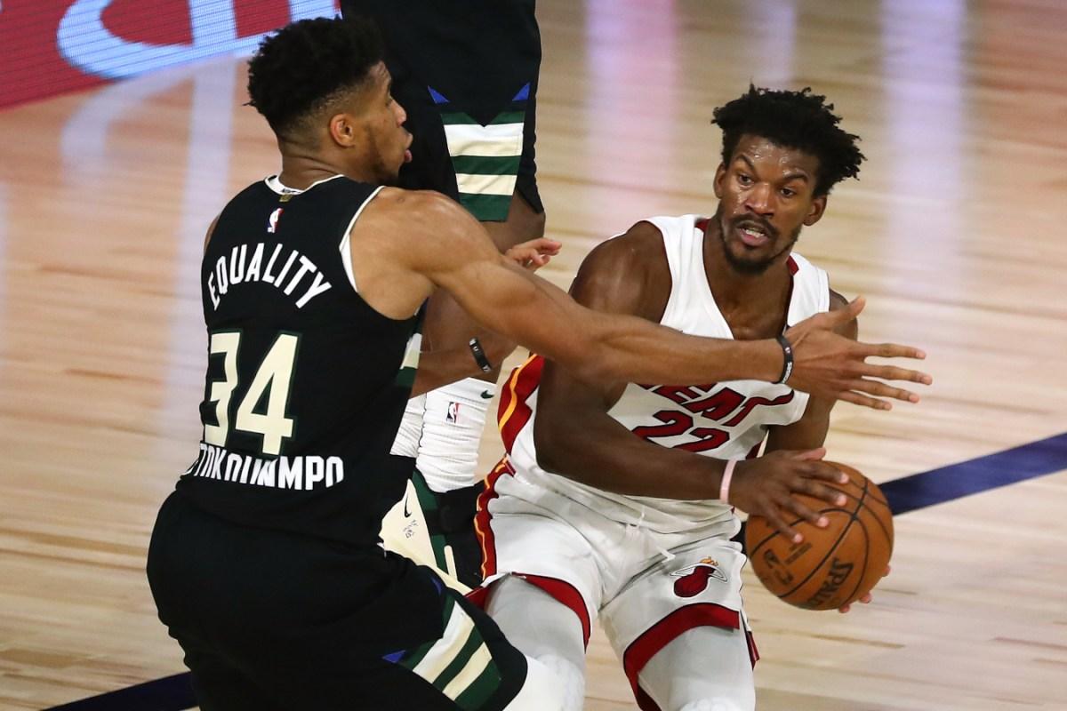 Jimmy Butler vs. Giannis Antetokounmpo
