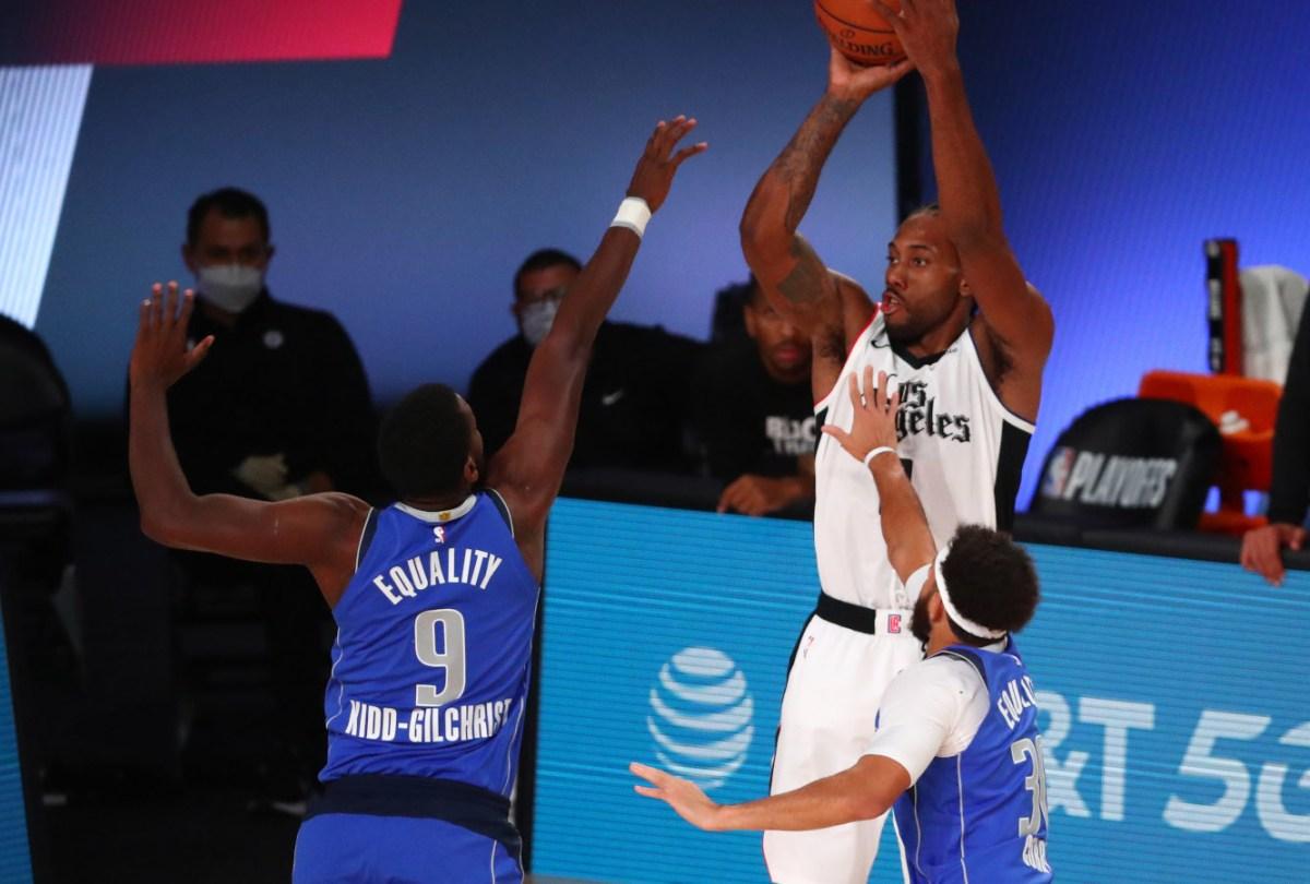 Kawhi Leonard vs. Dallas Mavericks