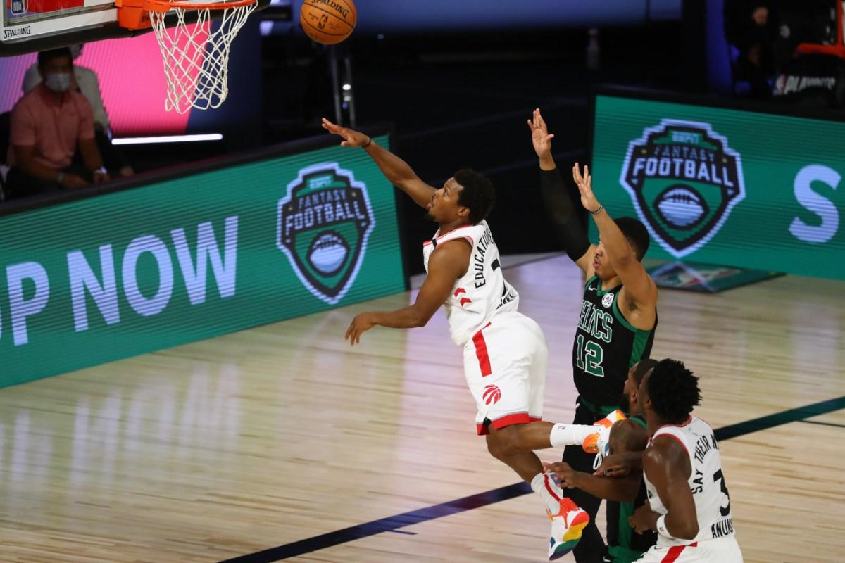 Kyle Lowry vs. Celtics