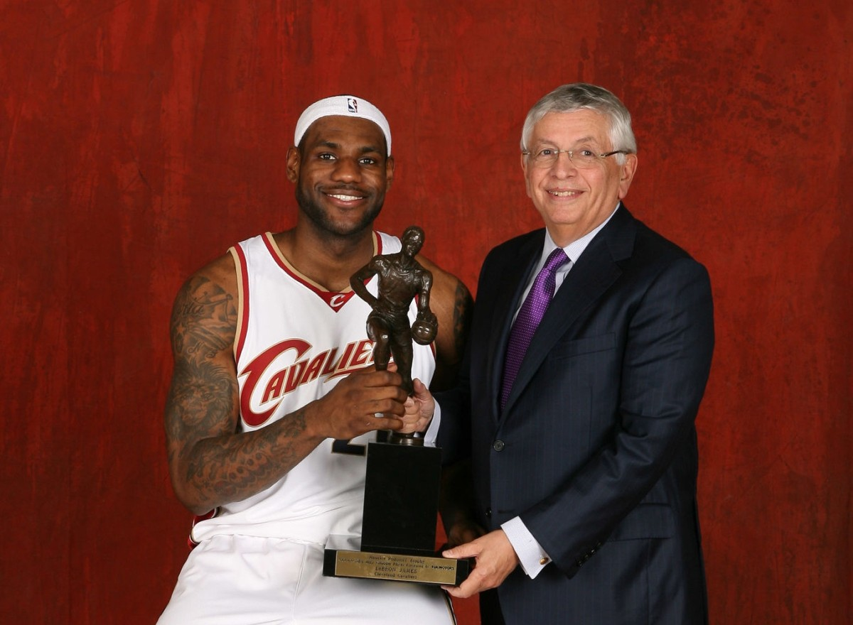 LeBron James, MVP