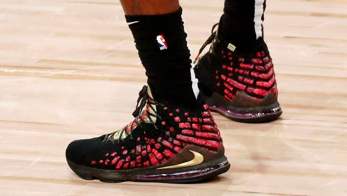 LeBron James - Nike LeBron 17 'Courage'