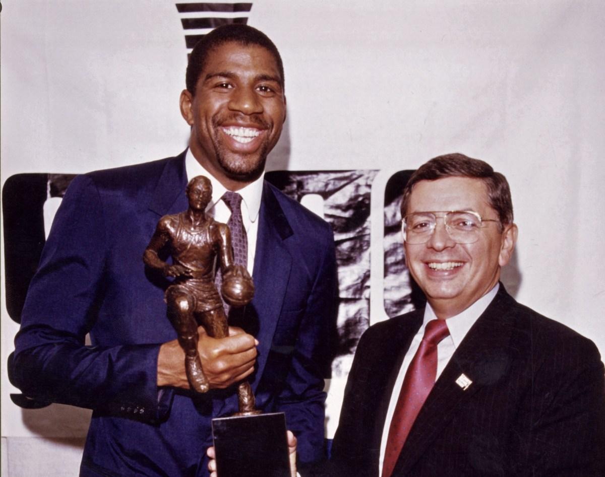 Magic Johnson, MVP