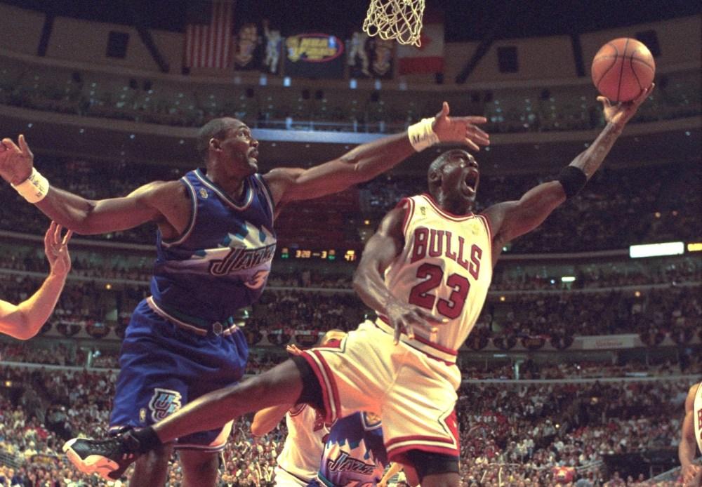 Michael Jordan vs. Karl Malone