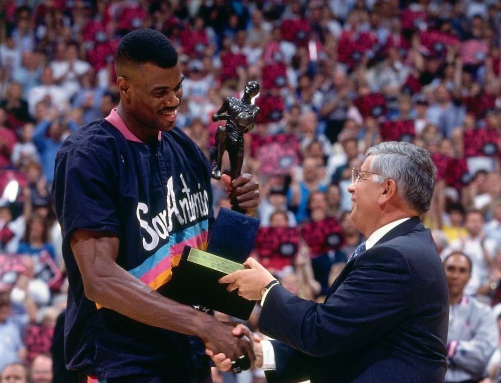 David Robinson, MVP