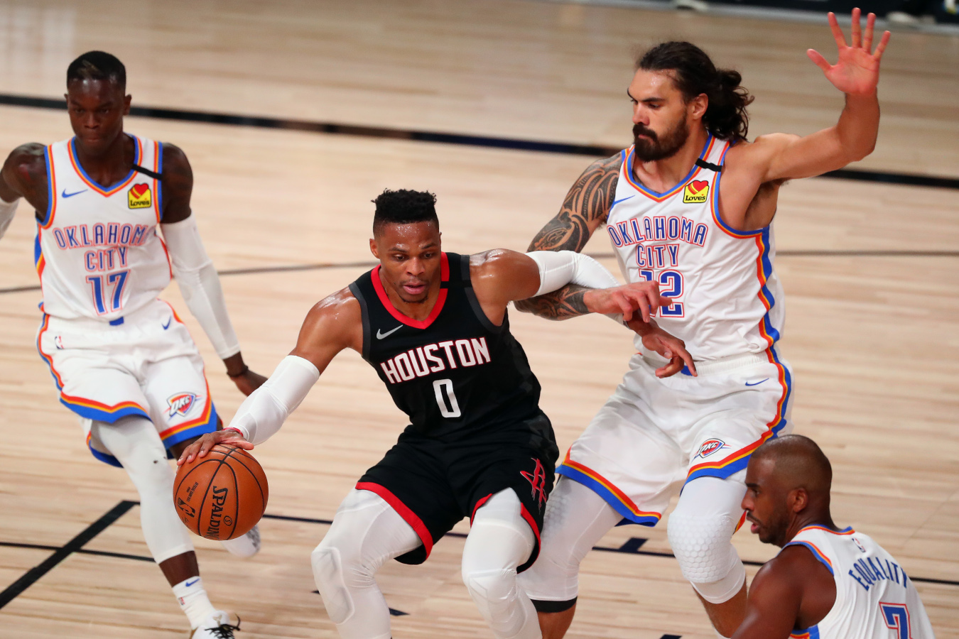 Russell Westbrook, Thunder vs. Rockets Game 7