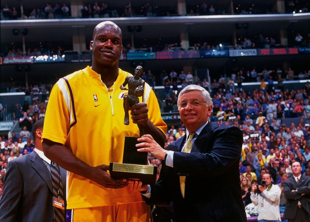 Shaquille O'Neal, MVP
