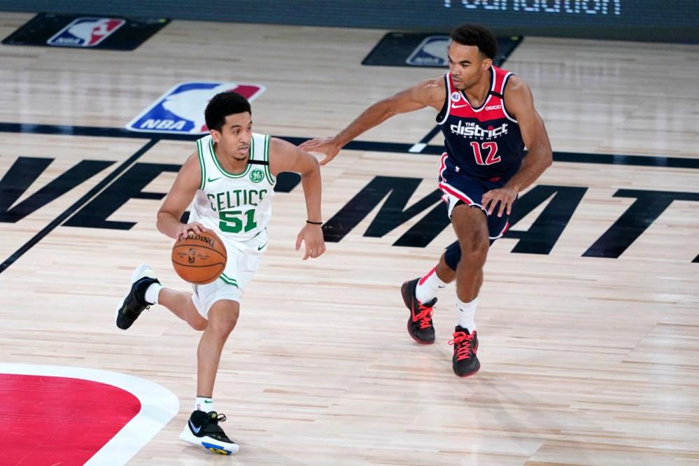 Tremont Waters, Boston Celtics