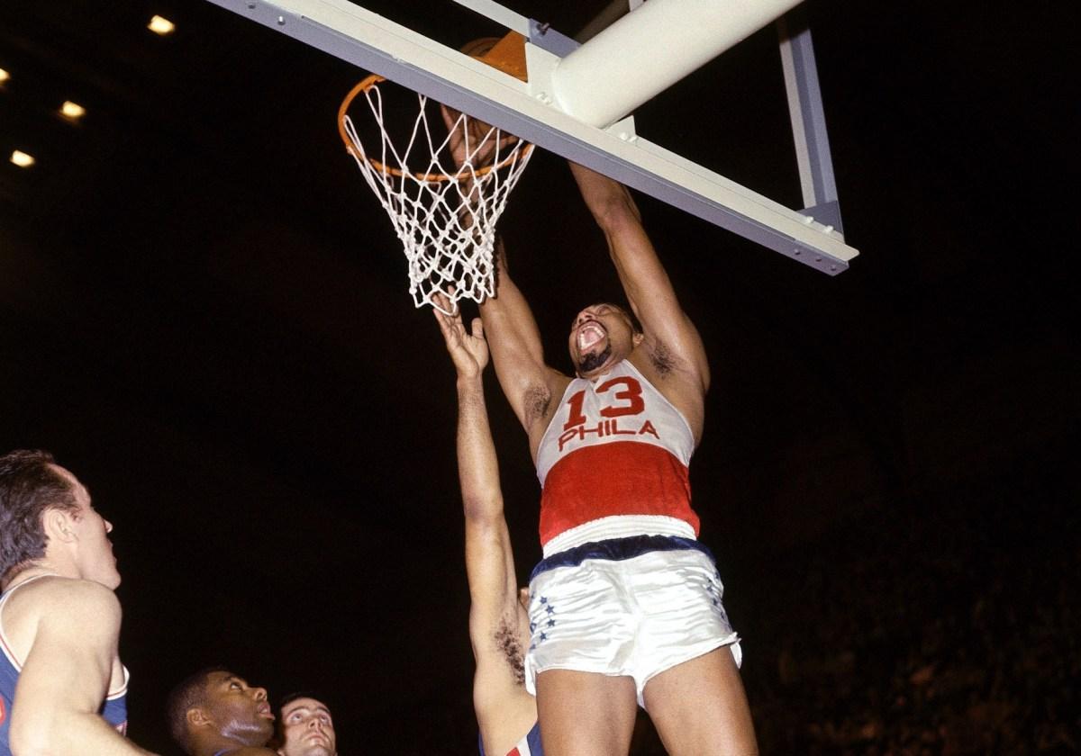 Wilt chamberlain, Philadelphia 76ers
