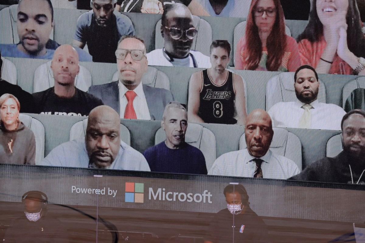 Barack Obama, virtual NBA Fans