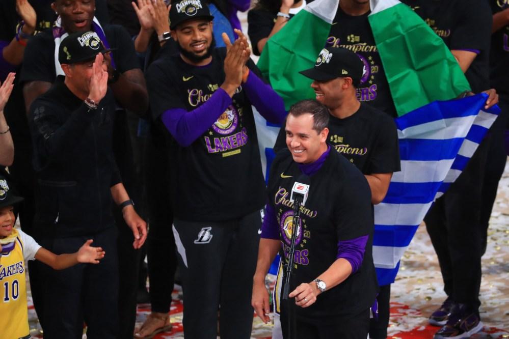 Frank Vogel, Lakers