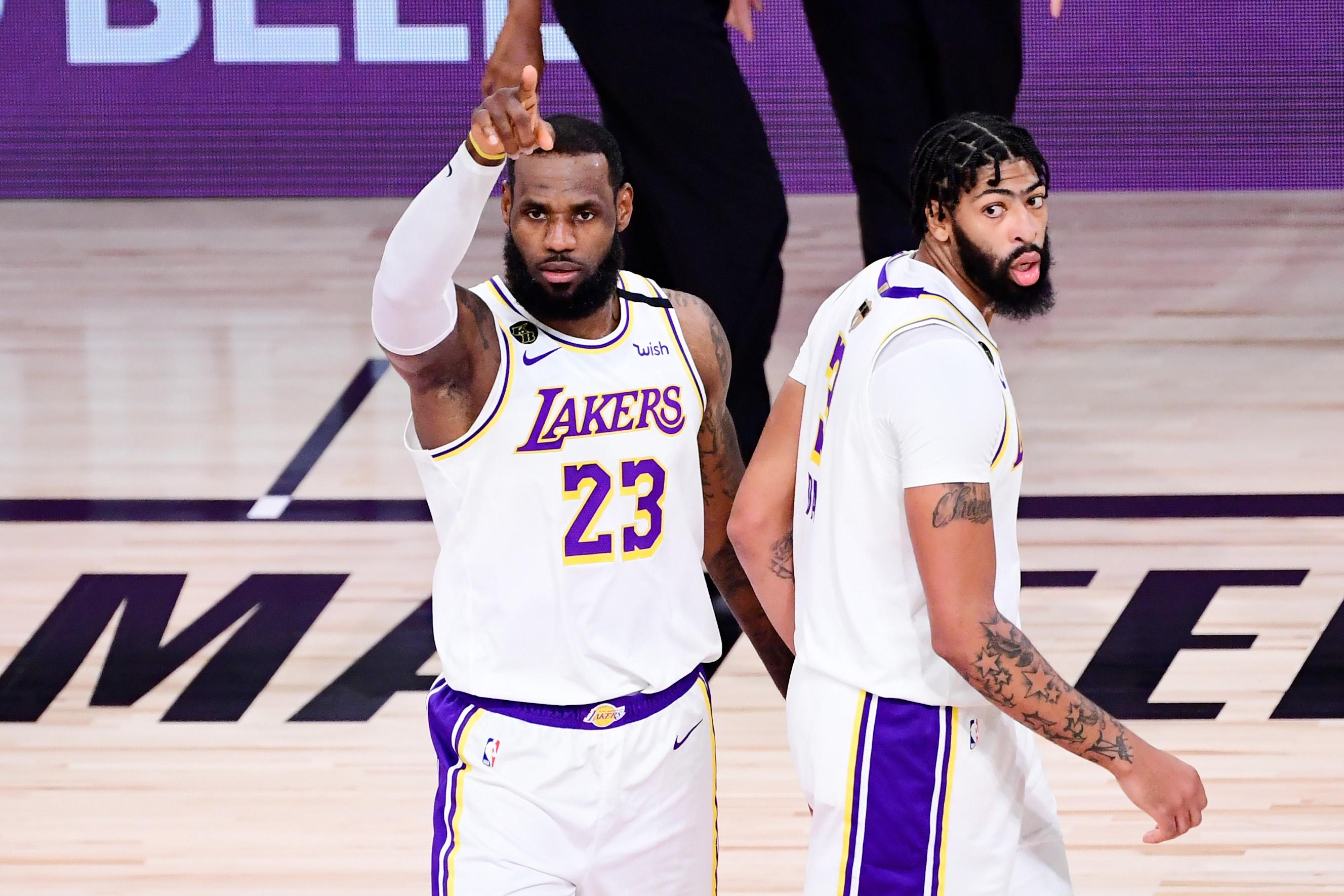 LeBron James Anthony Davis Top Three Playoff Duo NBA History Statistics