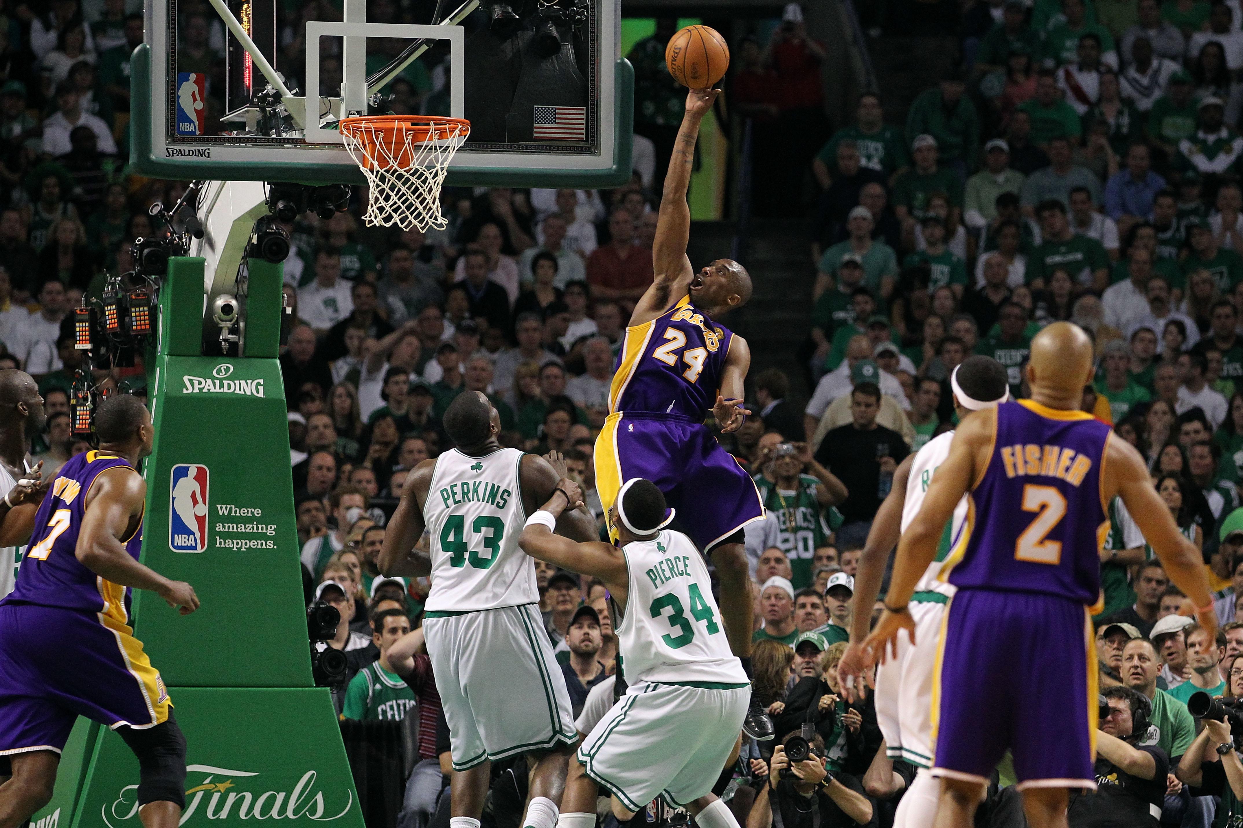 Kobe Bryant vs. Celtics, 2010