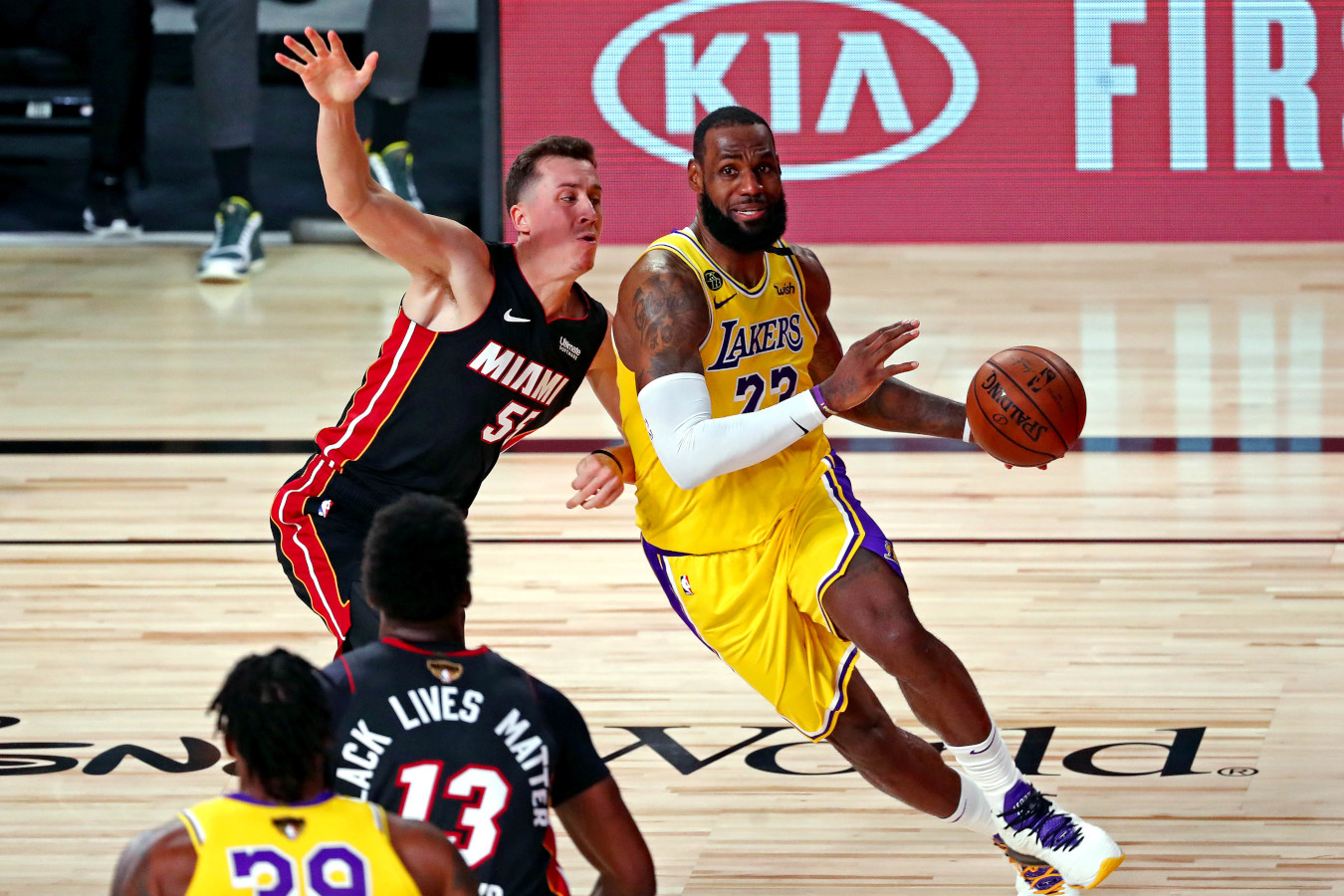 LeBron James vs. Duncan Robinson, NBA Finals