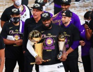 LeBron James is the first player to win Finals MVP with three teams