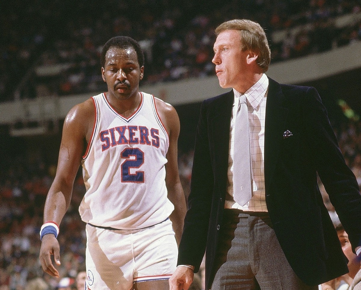 Moses Malone and Billy Cunningham