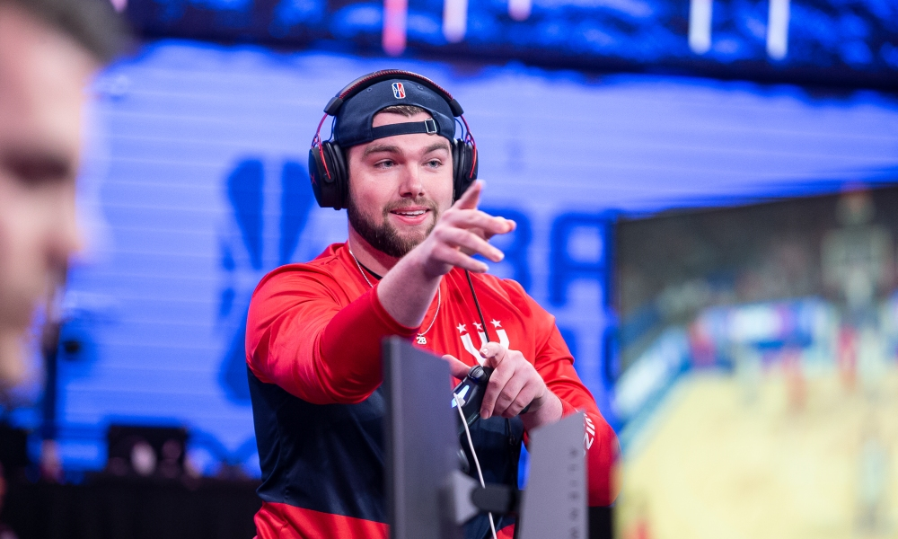 LONG ISLAND CITY, NY - JULY 11: during Week 11 of the NBA 2K League regular season on July 11, 2019 at the NBA 2K Studio in Long Island City, New York. NOTE TO USER: User expressly acknowledges and agrees that, by downloading and/or using this photograph, user is consenting to the terms and conditions of the Getty Images License Agreement. Mandatory Copyright Notice: Copyright 2019 NBAE