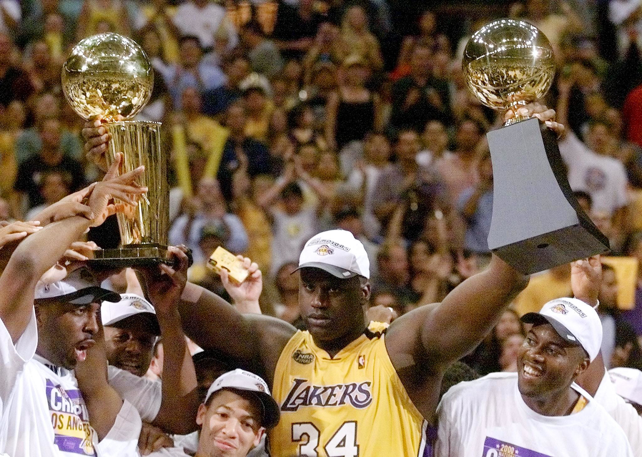 Shaquille O'Neal, Finals MVP, 2000