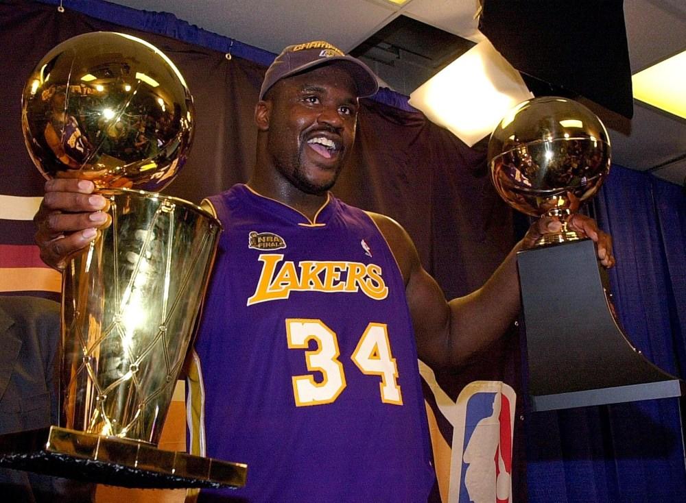 Shaquille O'Neal, Finals MVP, 2001