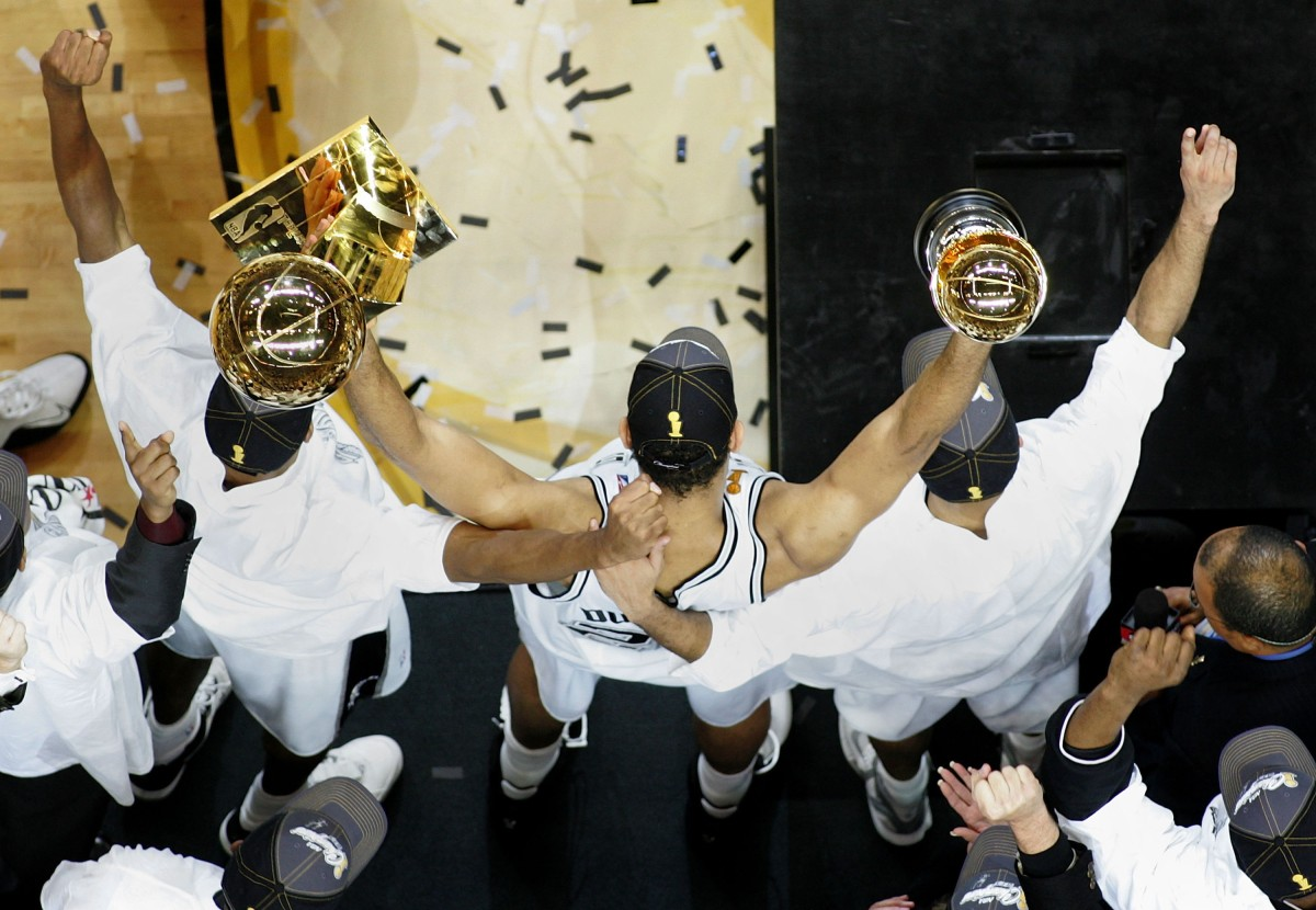 Tim Duncan, NBA Finals MVP, 2005