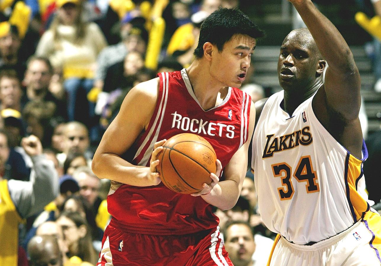Yao Ming vs. Shaquille O'Neal