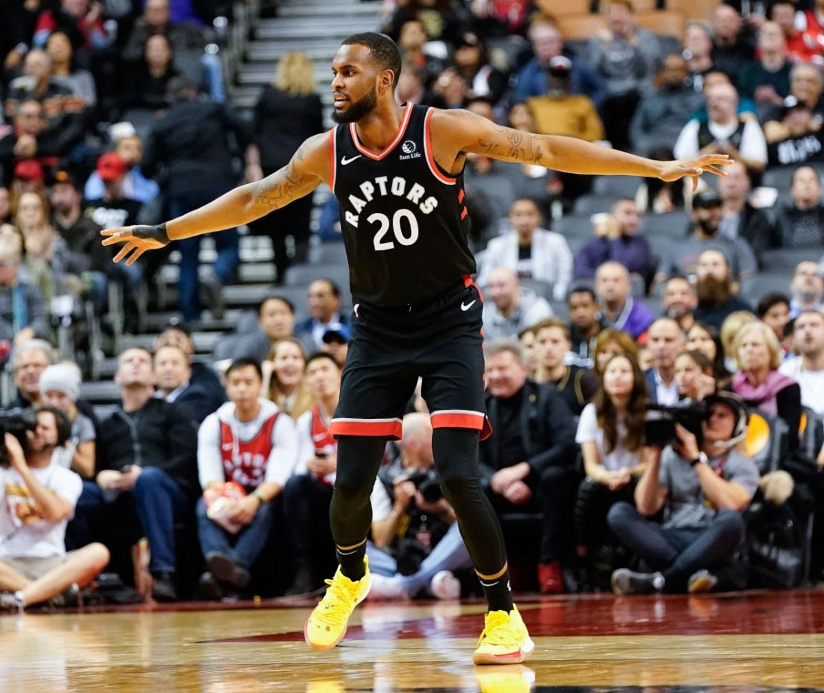 Dewan Hernandez, Toronto Raptors