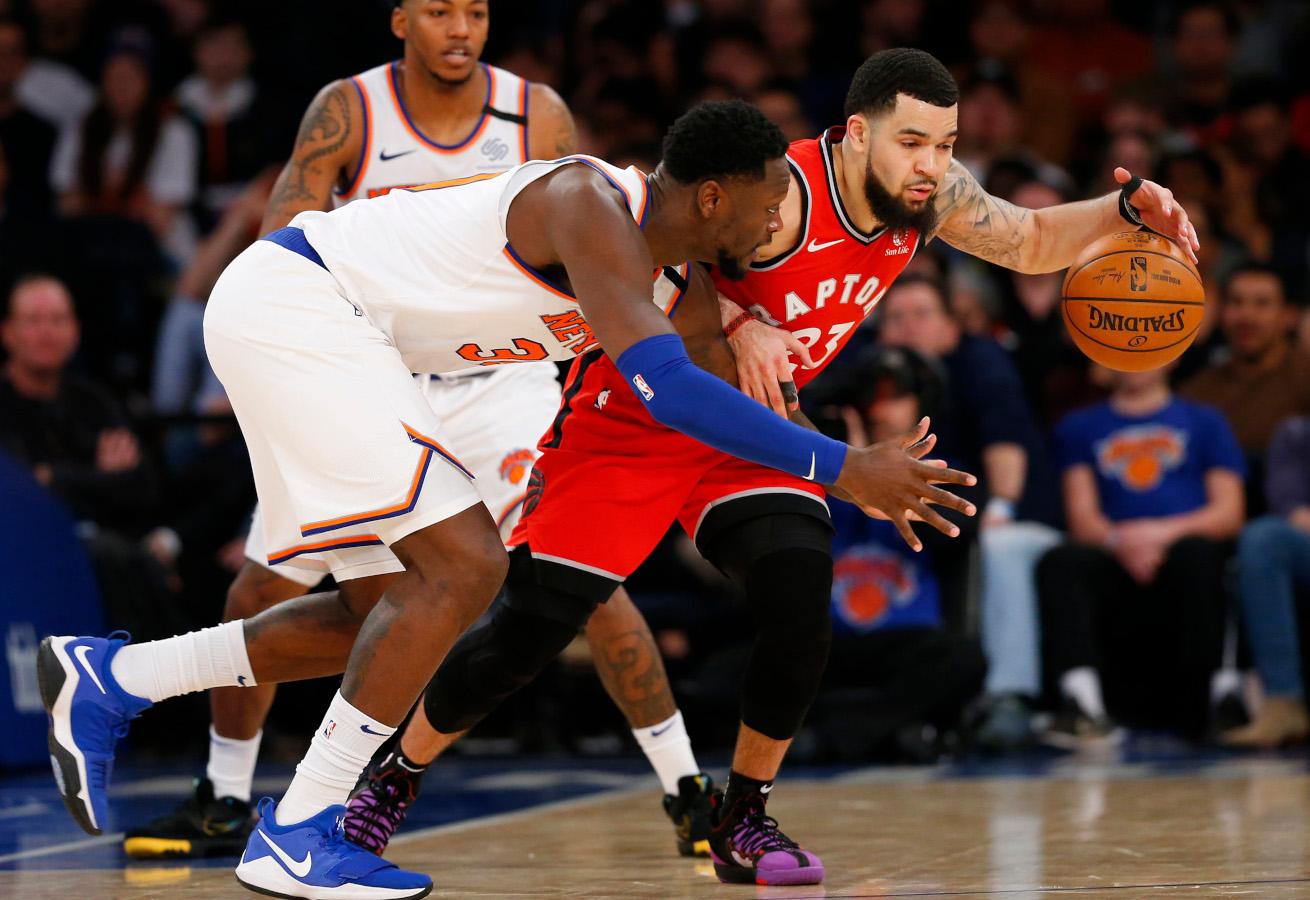 Fred VanVleet vs. Knicks