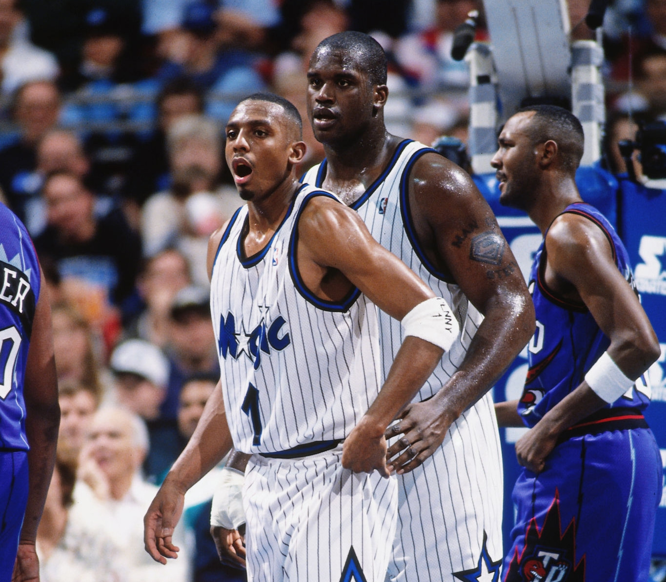 Penny Hardaway and Shaquille ONeal