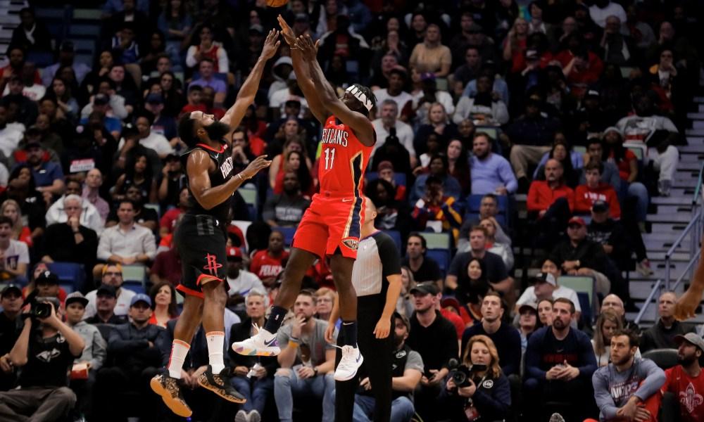 NBA Trade Rumors James Harden Jrue Holiday Chris Paul Beal Embiid