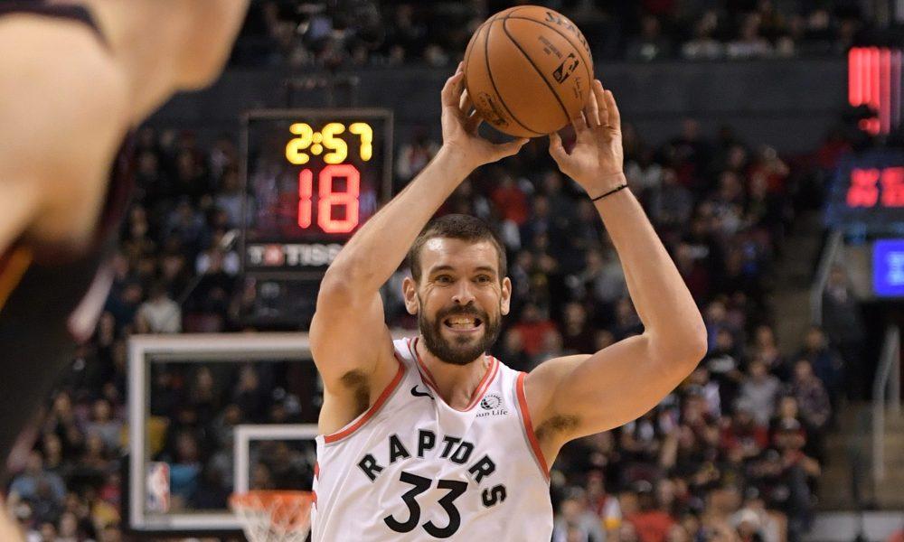 Marc Gasol, Toronto Raptors