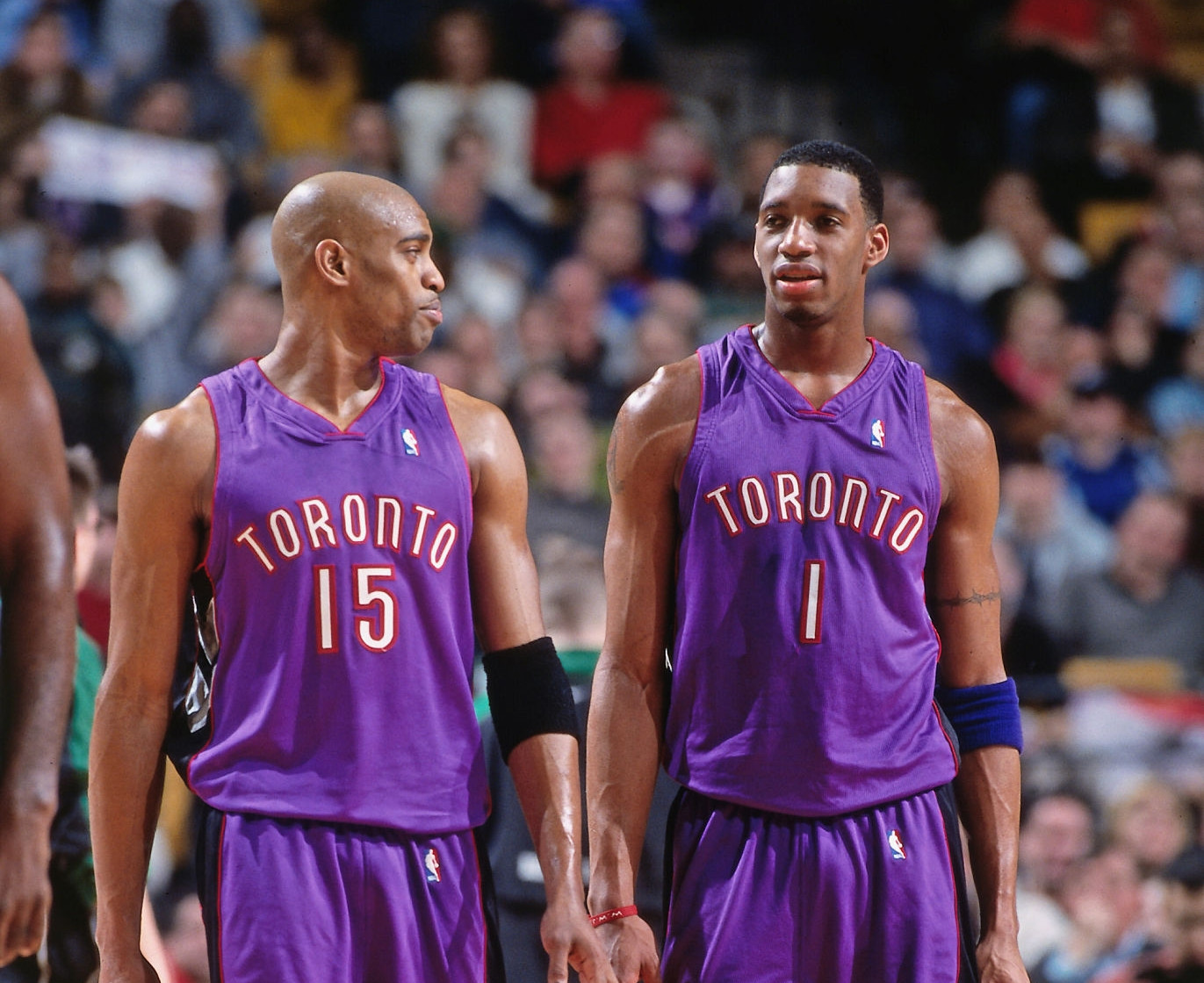 Vince Carter and Tracy McGrady