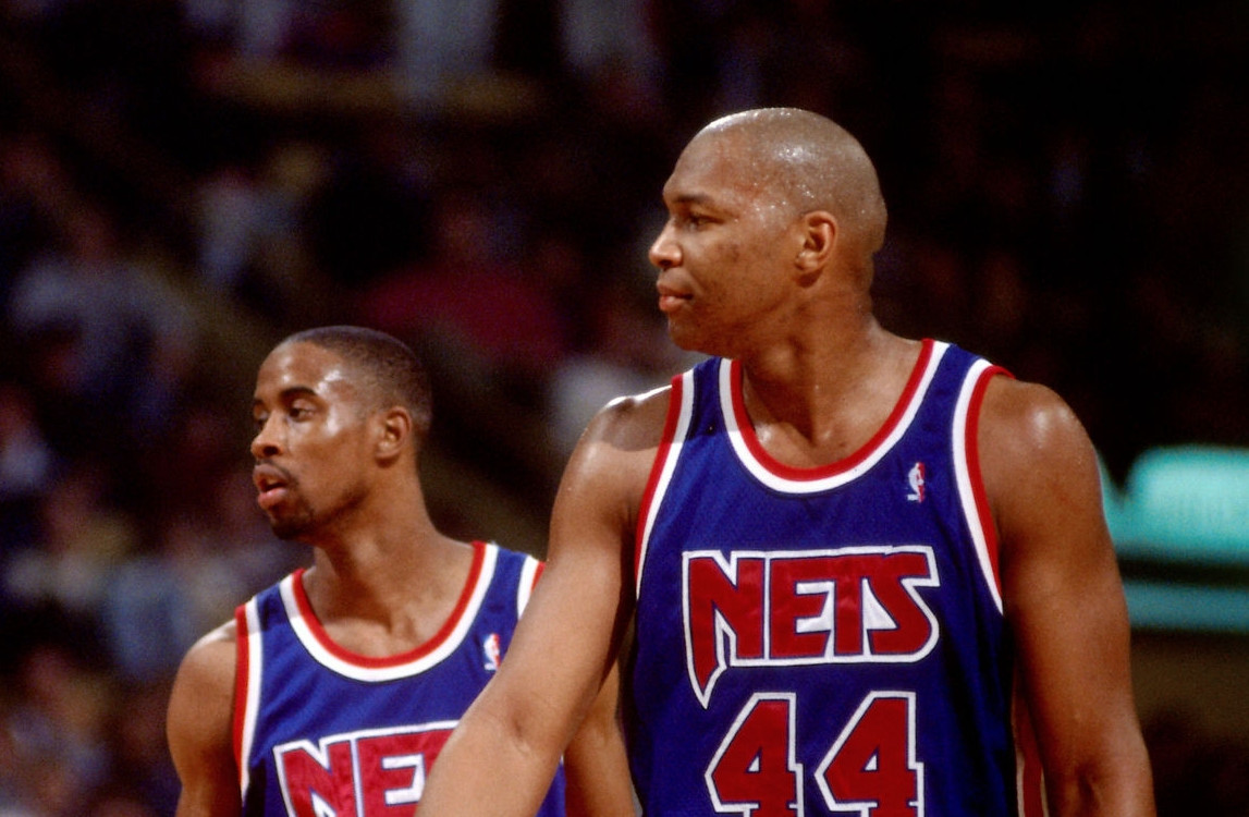 Derrick Coleman and Kenny Anderson