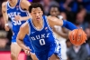 WINSTON-SALEM, NORTH CAROLINA - FEBRUARY 25: Wendell Moore Jr. #0 of the Duke Blue Devils during the second half during their game against the Wake Forest Demon Deacons at LJVM Coliseum Complex on February 25, 2020 in Winston-Salem, North Carolina.