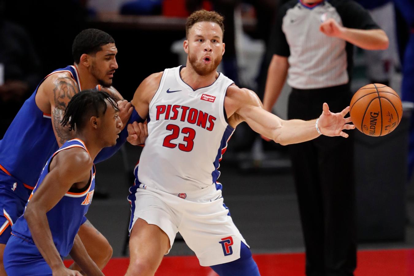 Blake Griffin, Detroit Pistons