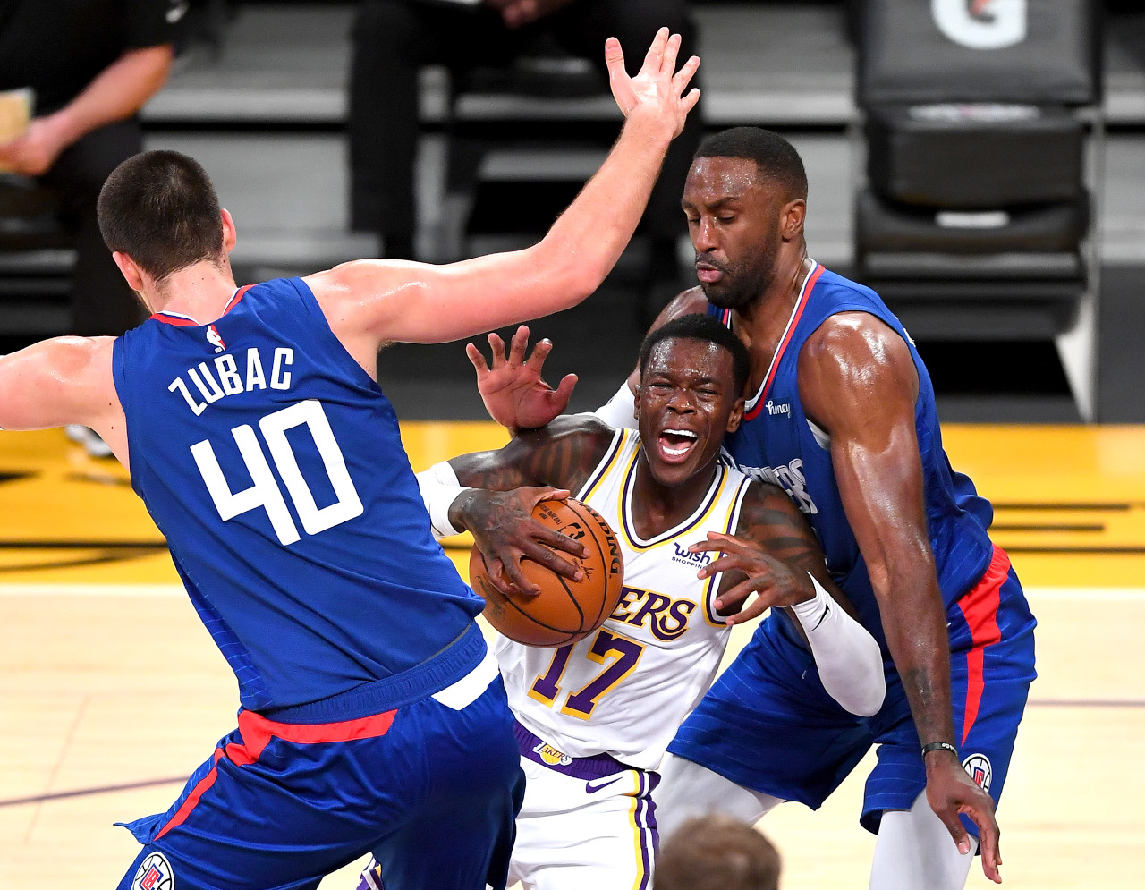 Dennis Schroeder, Los Angeles Lakers