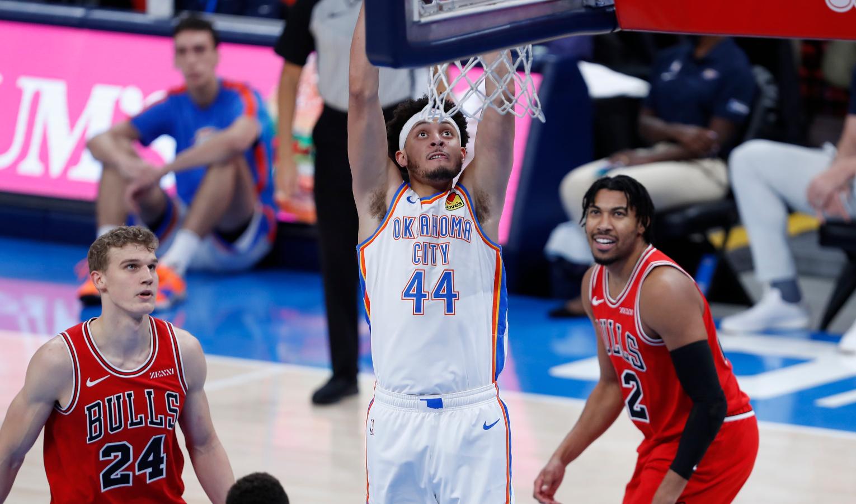 Justin Jackson, Oklahoma City Thunder