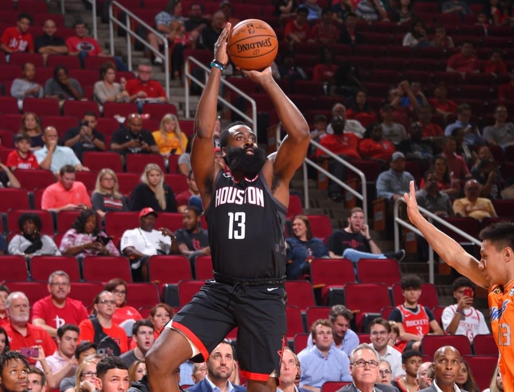 James Harden, Houston Rockets, 2019