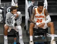 Trae Young is passing to John Collins less often. Here's why that's no big deal