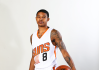 Sep 26, 2016; Phoenix, AZ, USA; Phoenix Suns guard Tyler Ulis poses for a portrait during media day at Talking Stick Resort Arena.
