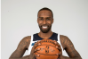 Sep 22, 2017; Minneapolis, MN, USA; Minnesota Timberwolves forward Shabazz Muhammad (15) poses for a photo during media day at Mayo Clinic Square.