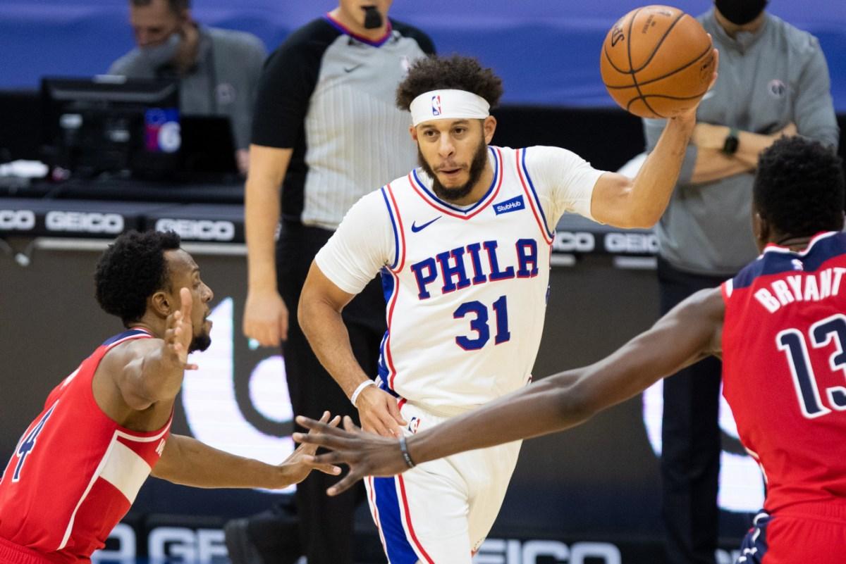 Seth Curry. Philadelphia 76ers
