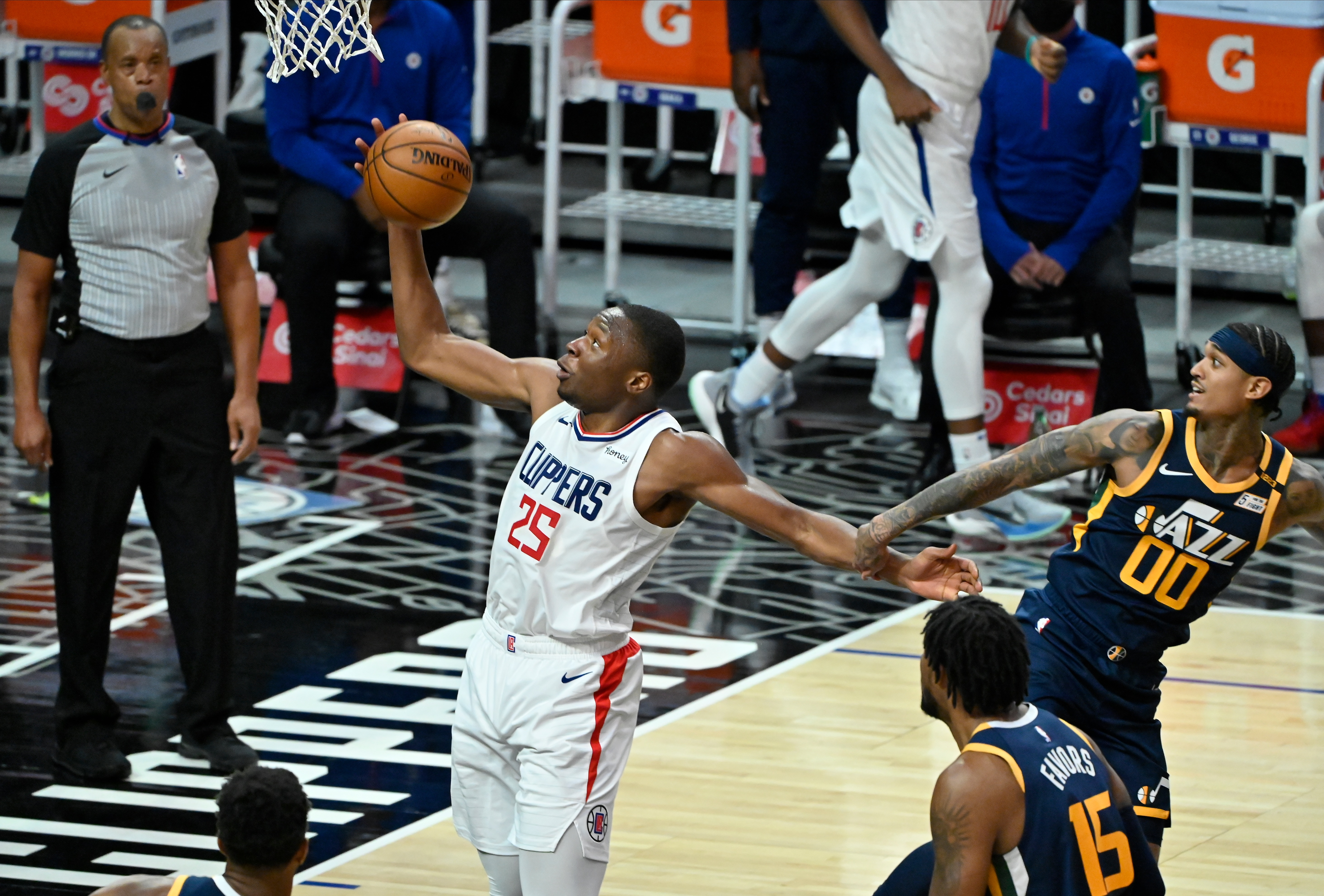 Mfiondu Kabengele, Los Angeles Clippers