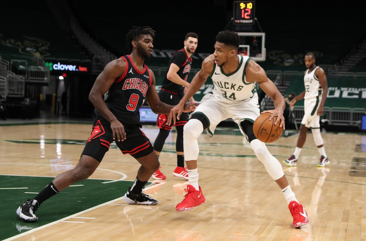 Giannis Antetokounmpo, Milwaukee Bucks