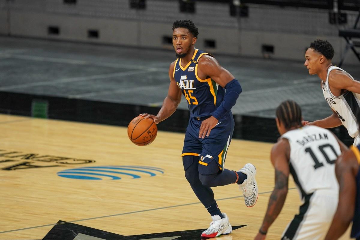 Donovan Mitchell, Utah Jazz