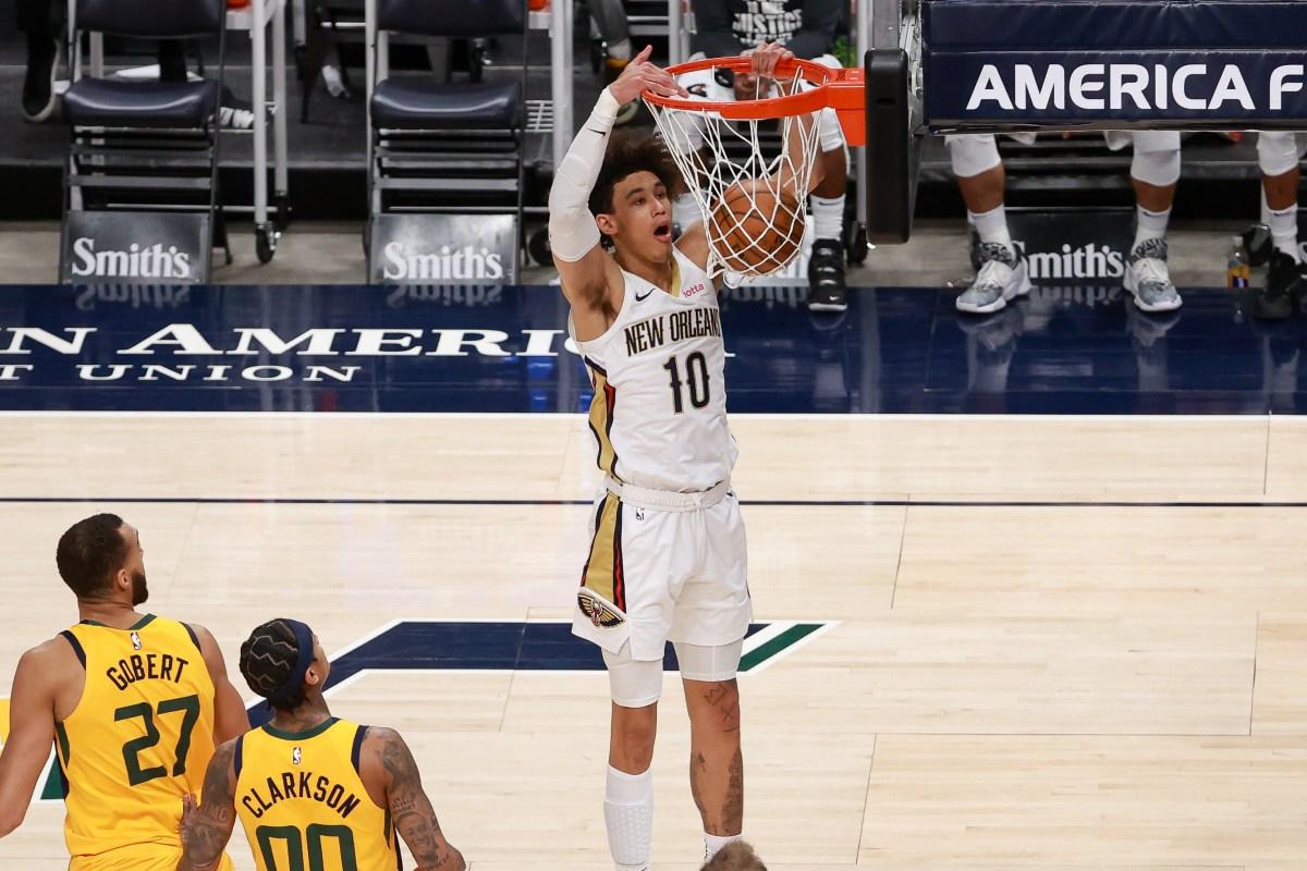 Jaxson Hayes, New Orleans Pelicans