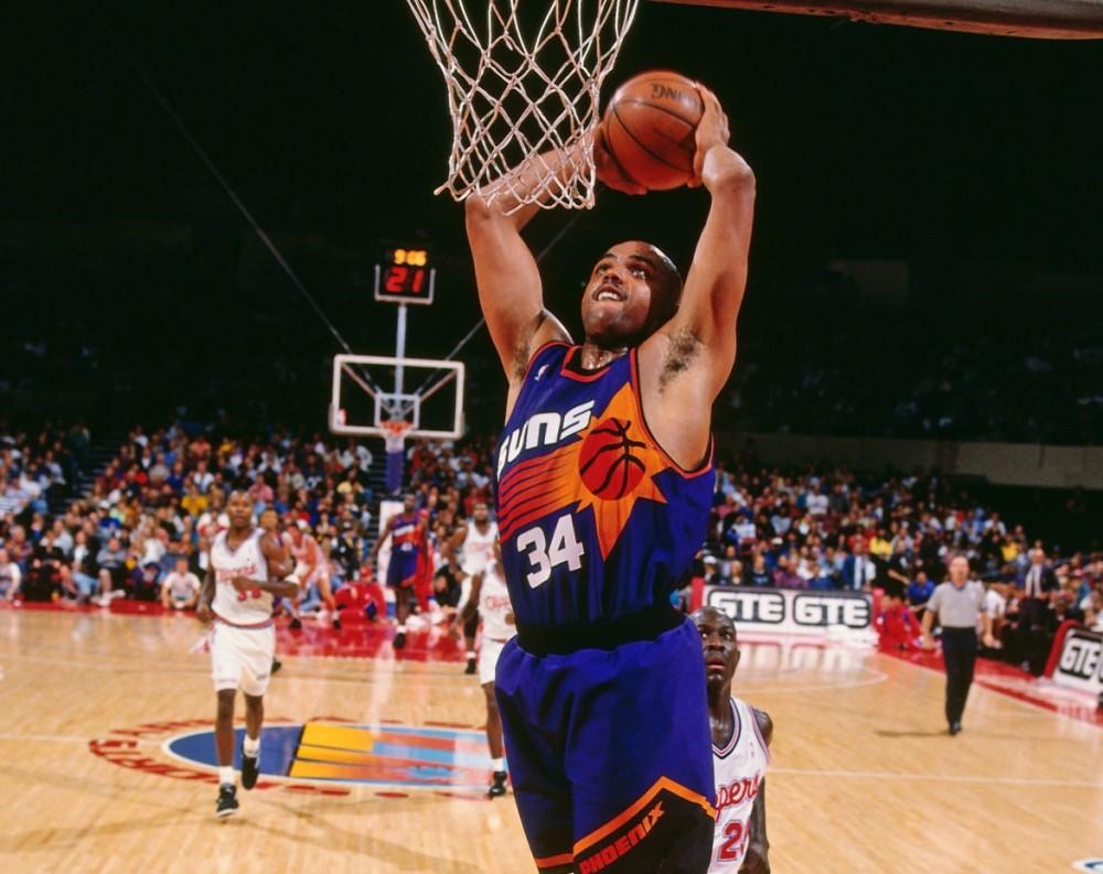 Charles Barkley, Phoenix Suns