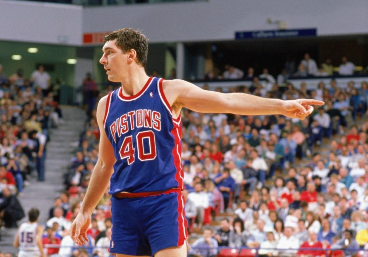 Bill Laimbeer, Detroit Pistons