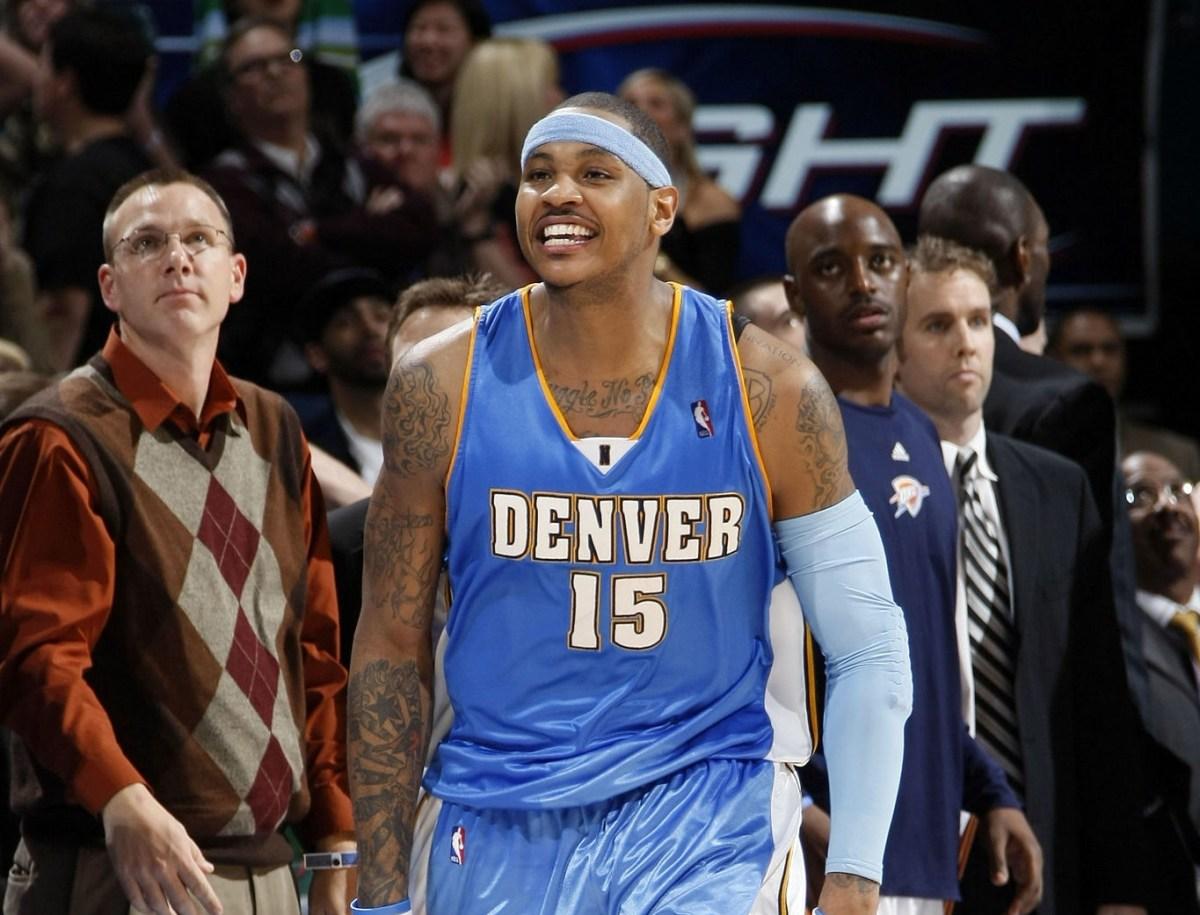 Carmelo Anthony, Denver Nuggets