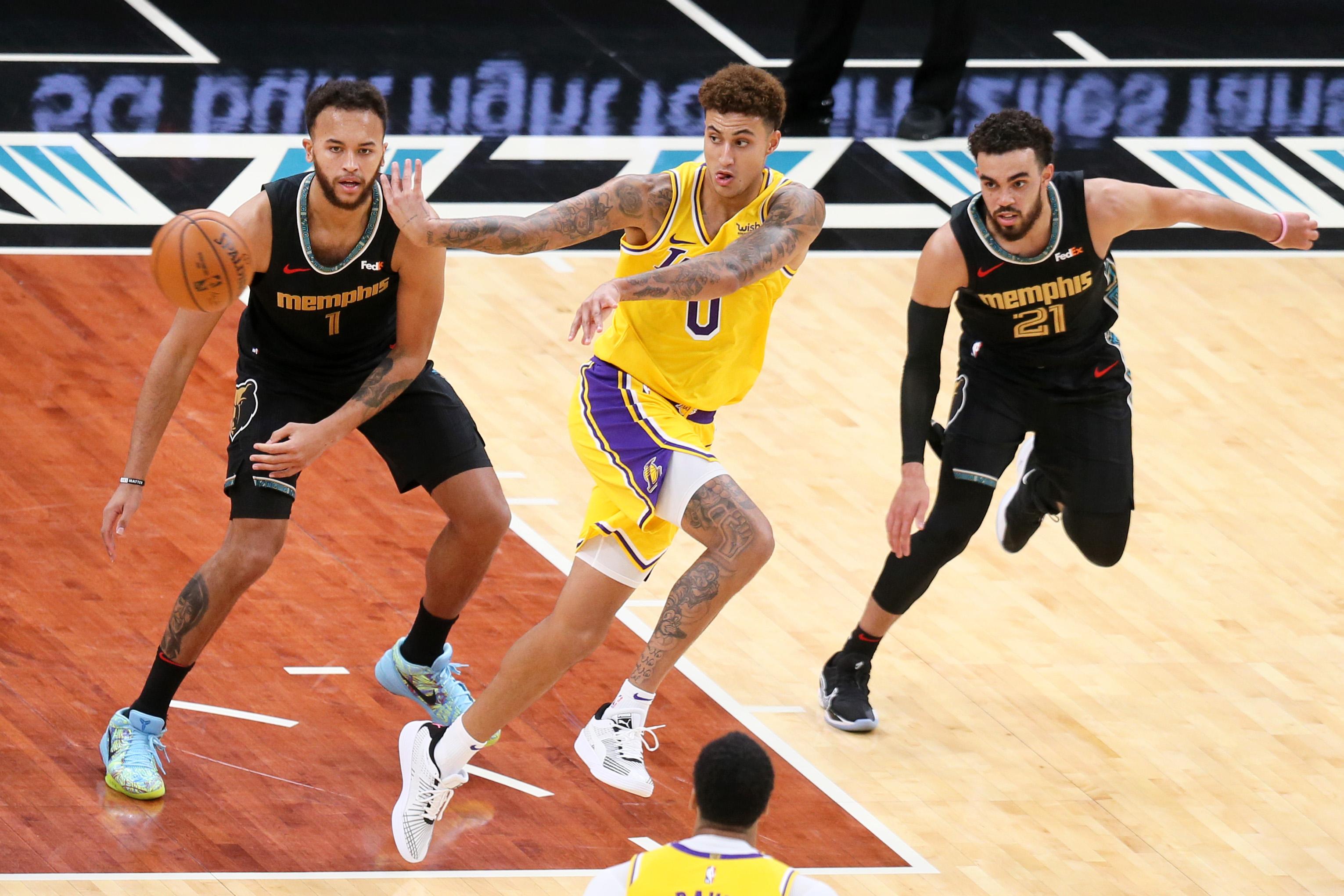 Kyle Kuzma, Los Angeles Lakers